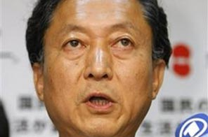 Yukio Hatoyama, leader of Japan's main opposition Democratic Party of Japan, speaks during a press briefing at the party headquarters in Tokyo, Japan, late Monday afternoon, Aug. 31, 2009. Source: AP