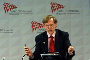 The post-crisis world economy faces new risks from investment bubbles that risk plunging millions back into poverty, according to World Bank chief Robert Zoellick Source: AFP