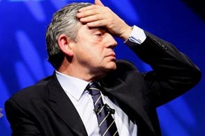 Britain's Prime Minister Gordon Brown reacts during a question and answer session following his speech to delegates at the annual Trades Union Congress in Liverpool, England, Tuesday, Sept. 15, 2009. Source: AP