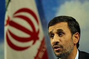 Iran's President Mahmoud Ahmadinejad in Tehran. China and the United States have agreed that Iran faces
