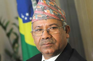 Prime Minister Madhav Kumar Nepal Source: Agencies
