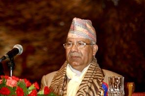 Prime Minister Madhav Kumar Nepal Source: THT