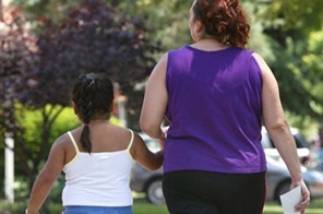 The WHO says 400 million adults around the world were obese in 2005 Source: AFP