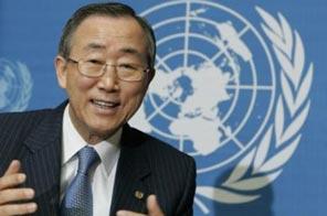 Ban Ki-moon Source: AFP