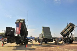 A US Army's Patriot Surface-to Air missile system is seen at the US airbase in Osan, S.Korea, in 2008. China urged Washington on Saturday to abandon plans to sell missile equipment to Taiwan, warning the move would violate its security and severely undermine trust between the US and Chinese militaries. Source: AFP