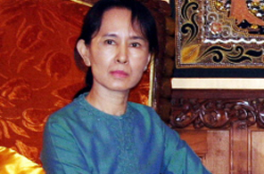 Aung San Suu Kyi Source: