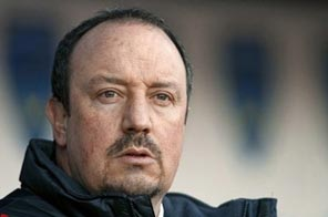 Just when Liverpool manager Rafael Benitez, seen here in 2009, thought things could not get any worse, he found himself facing up to the prospect of being without star players Fernando Torres and Steven Gerrard. Source: AFP