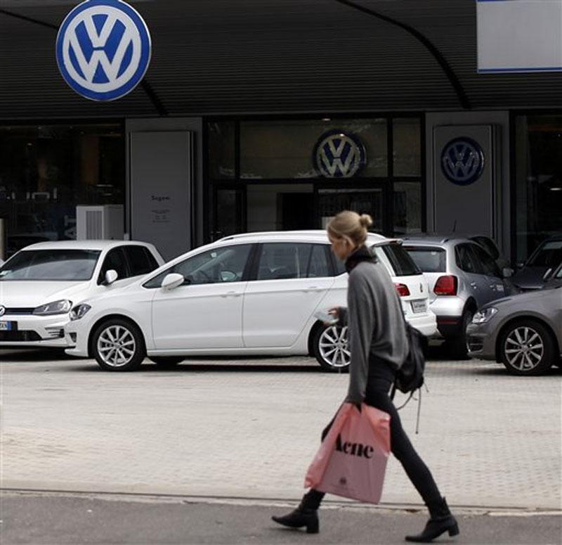 Volkswagen. Photo: AP