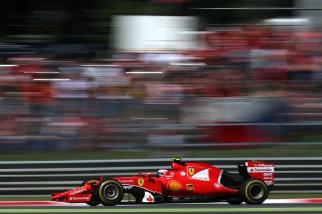 Ferrari's Kimi Raikkonen in action. Photo: Action Images / Hoch ZweinLivepic/Reuters