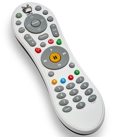 The remote for the TiVo Bolt digital video recorder. With one press of a button, the Bolt will skip an entire commercial break when users watch recordings. The feature will work with about 20 over-the-air and cable channels, including the major broadcast networks, mostly during primetime hours. Photo: AP