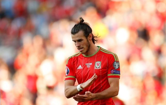 Wales' Gareth Bale. Action Images via Reuters