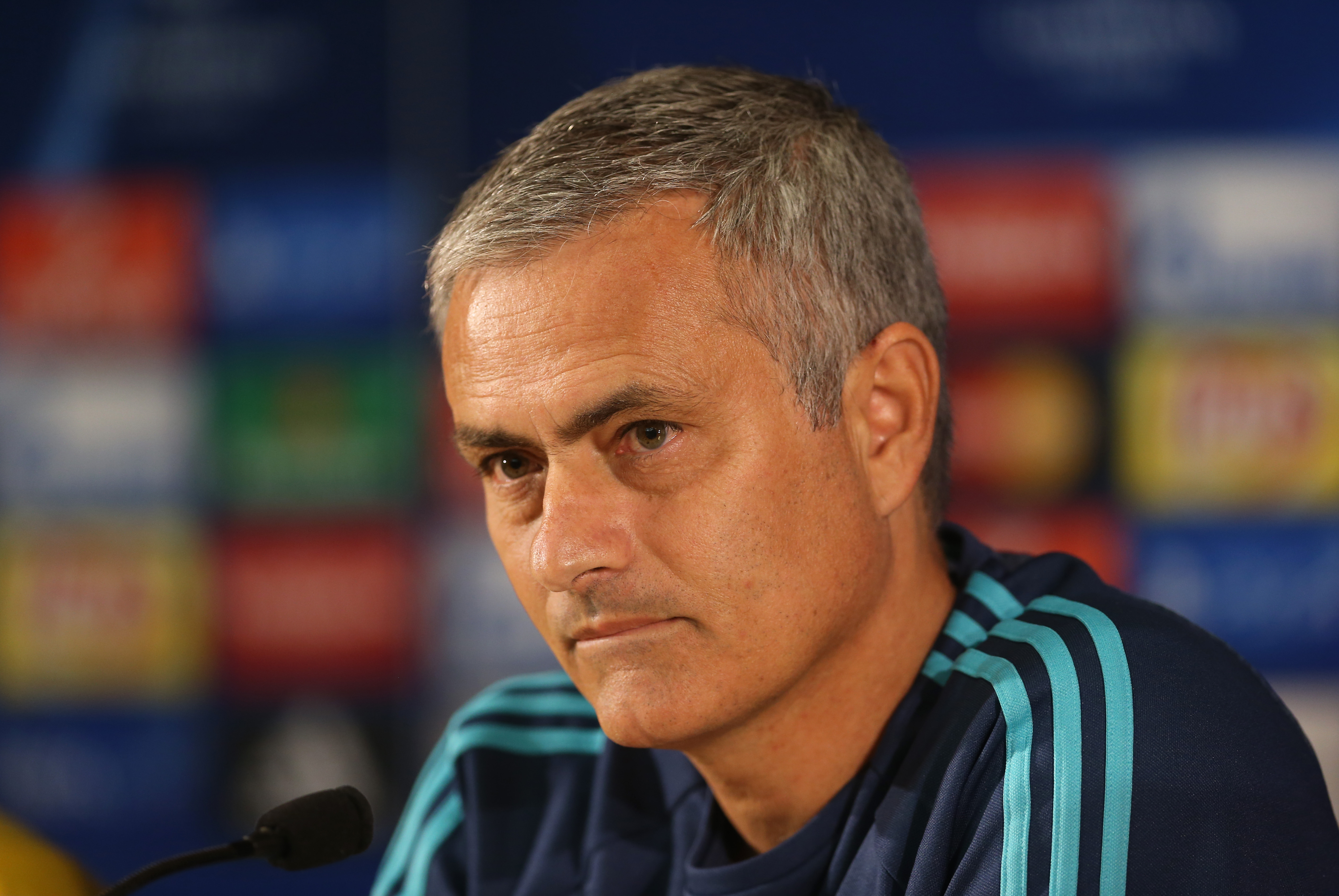 Football - Chelsea Press Conference - Dragao Stadium, Oporto, Portugal - 28/9/15nChelsea manager Jose Mourinho during the press conferencenAction Images via Reuters / Matthew ChildsnLivepicnEDITORIAL USE ONLY.