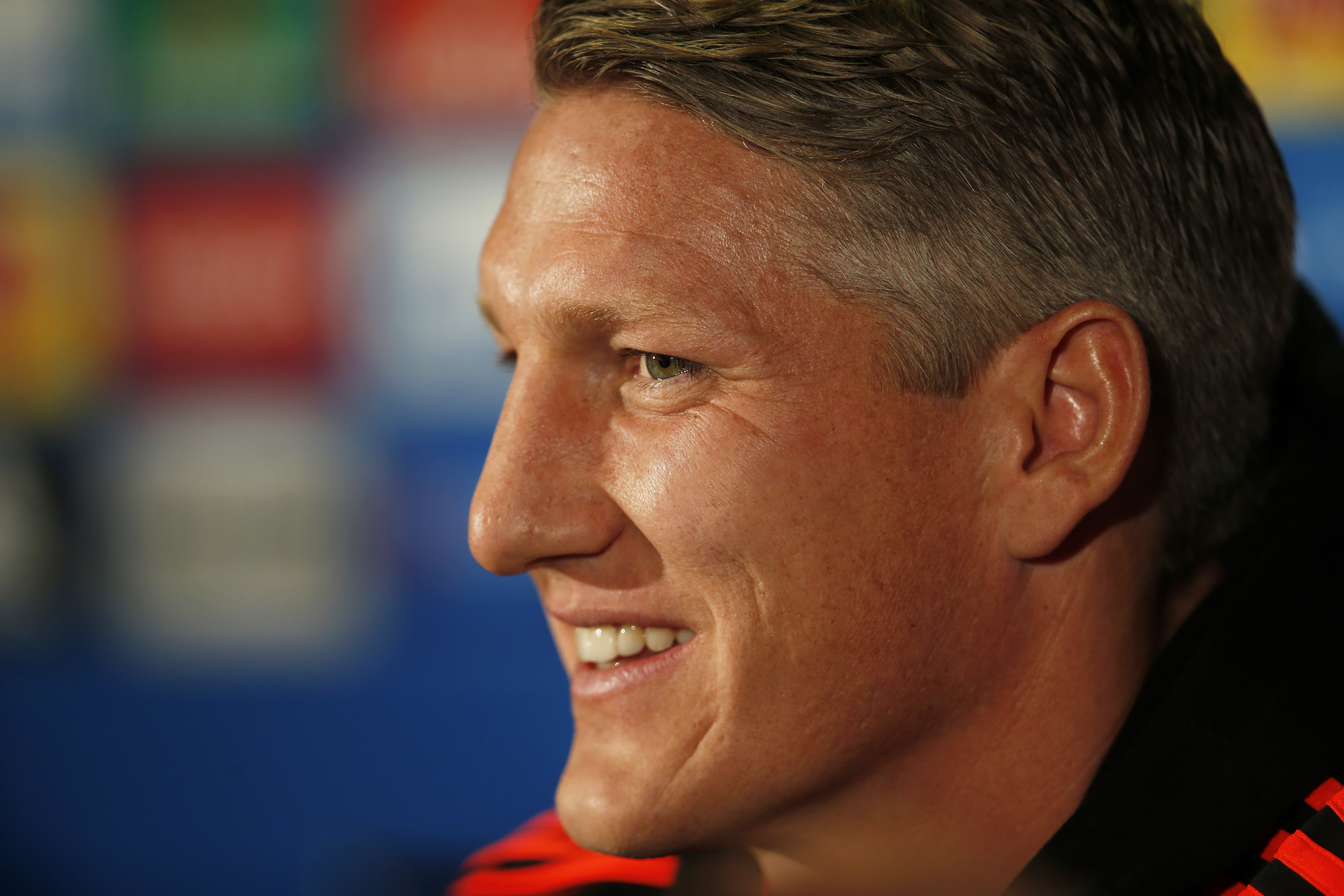 Football - Manchester United Press Conference - Old Trafford, Manchester, England - 29/9/15nManchester United's Bastian Schweinsteiger during the press conferencenAction Images via Reuters / Lee SmithnLivepicnEDITORIAL USE ONLY.