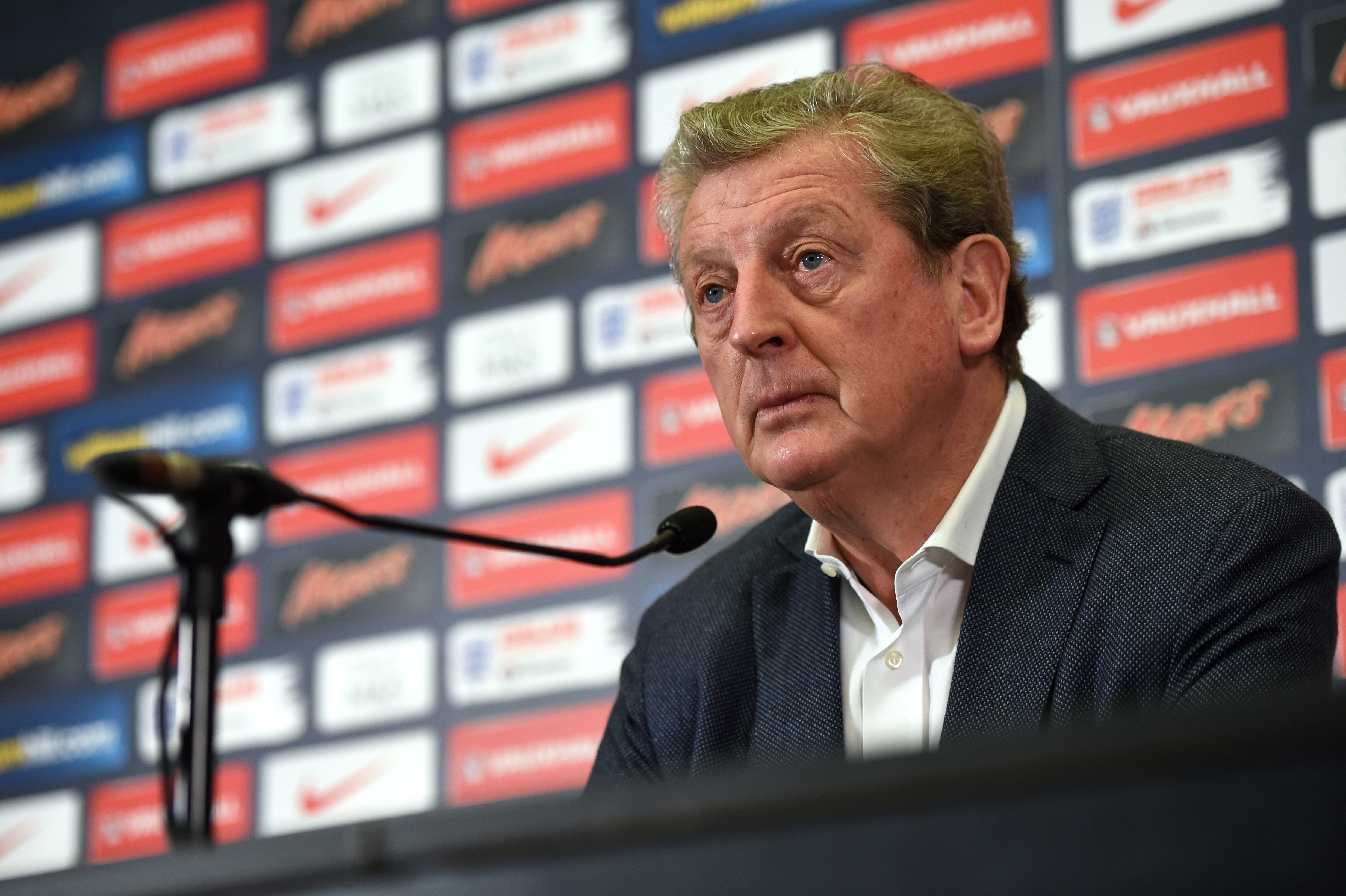Football - England - Roy Hodgson Press Conference - Wembley Stadium - 1/10/15nEngland manager Roy Hodgson during the Press ConferencenAction Images via Reuters / Tony O'BriennLivepicnEDITORIAL USE ONLY.