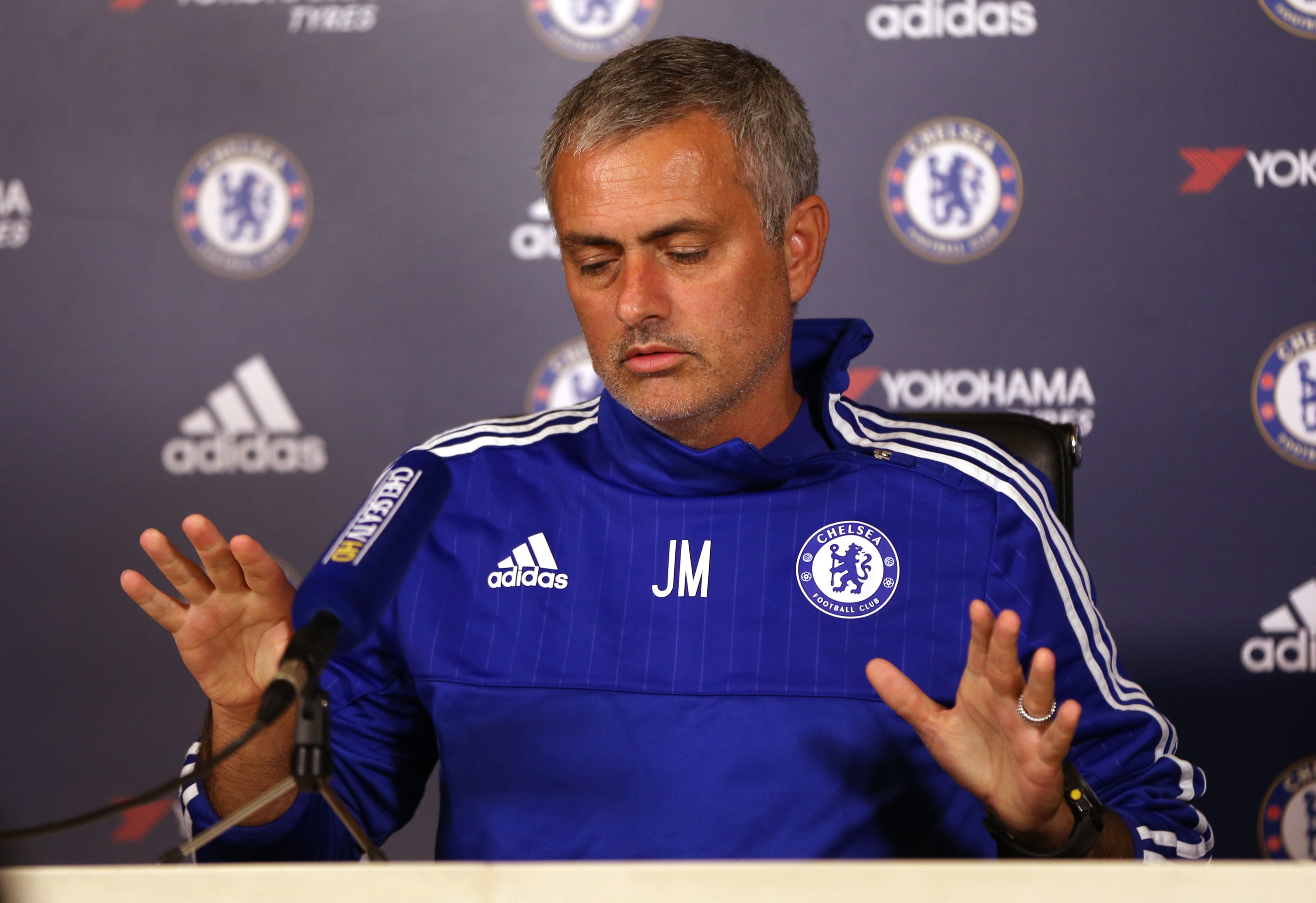 Football - Chelsea - Jose Mourinho Press Conference - Chelsea Training Ground - 2/10/15nChelsea Manager Jose Mourinho during press conferencenAction Images via Reuters / Alex MortonnLivepic