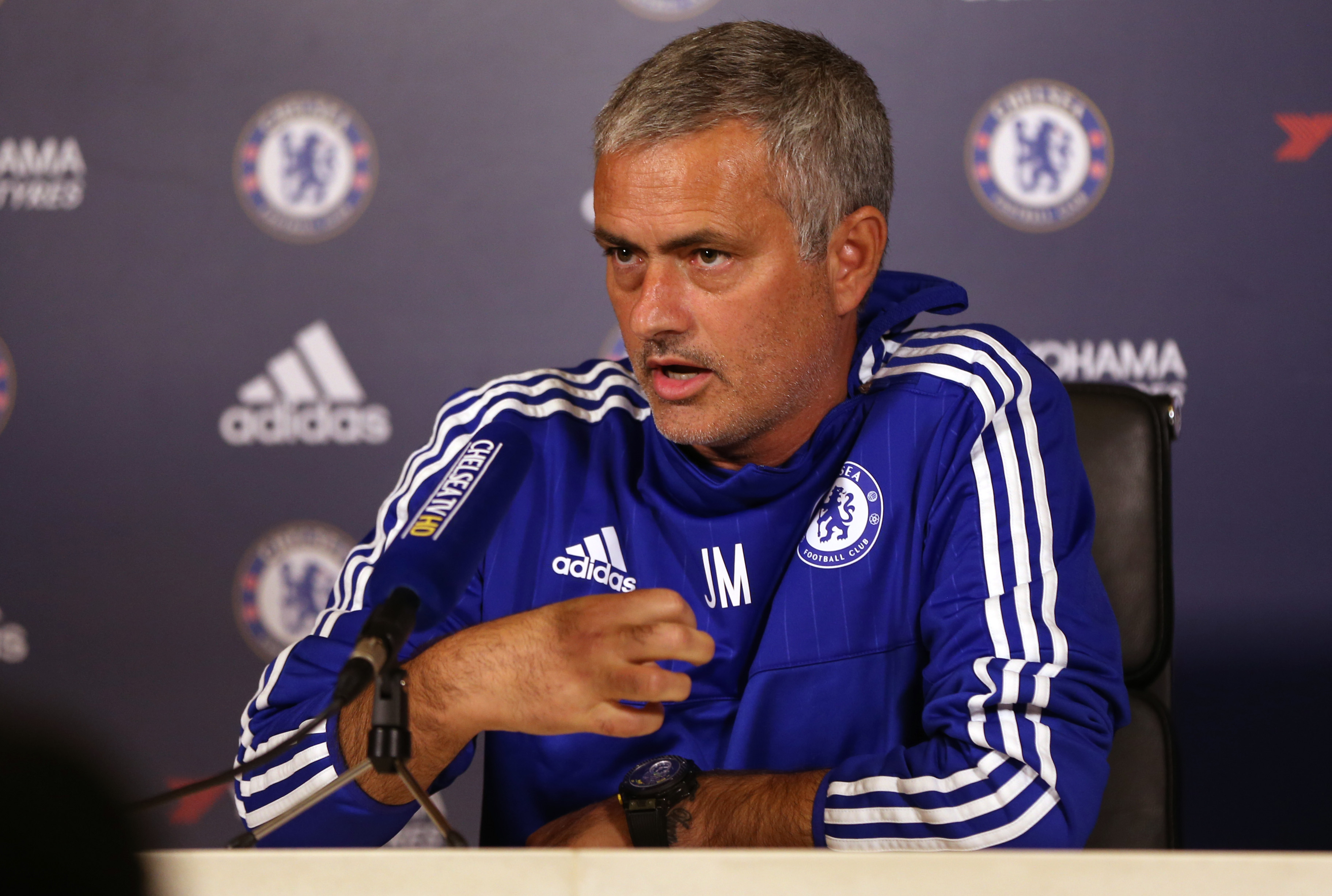 Chelsea Manager Jose Mourinho during press conference on October 2, 2015. Photo: Reuters