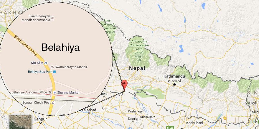 Belahiya. Photo: Google map