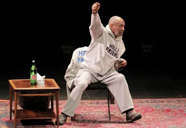 Comedian Bill Cosby performs at The Temple Buell Theatre in Denver, Colorado January 17, 2015. REUTERS/Barry Gutierrez/Files