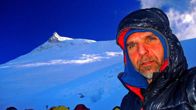 Boyan Petrov, first Bulgarian to ascend Mt Manaslu. Courtesy: Petrov
