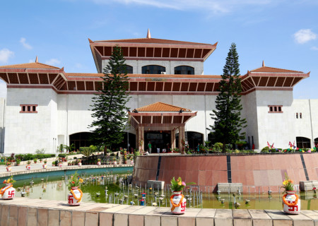 Parliament Building in New Baneshwor. Photo: RSS/File