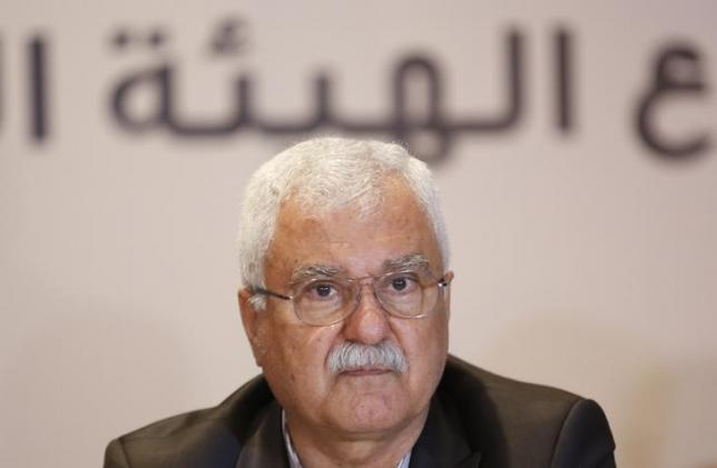 George Sabra, a veteran Christian opposition figure and acting President of the Syrian National Coalition, attends a meeting in Istanbul July 4, 2013.  REUTERS/Murad Sezer/files