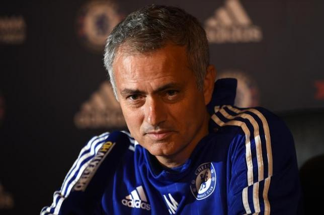 Football - Chelsea - Jose Mourinho Press Conference - Chelsea Training Ground - 16/10/15nChelsea manager Jose Mourinho during the press conferencenAction Images via Reuters / Tony O'BriennLivepic