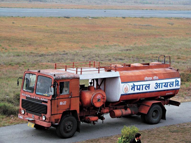 Nepal Oil Corporation tanker. Photo: THT