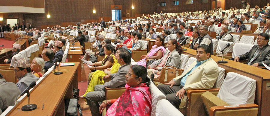 Lawmakers taking part in the Legislature-Parliament meeting on Friday, October 9, 2015. Photo: RSS