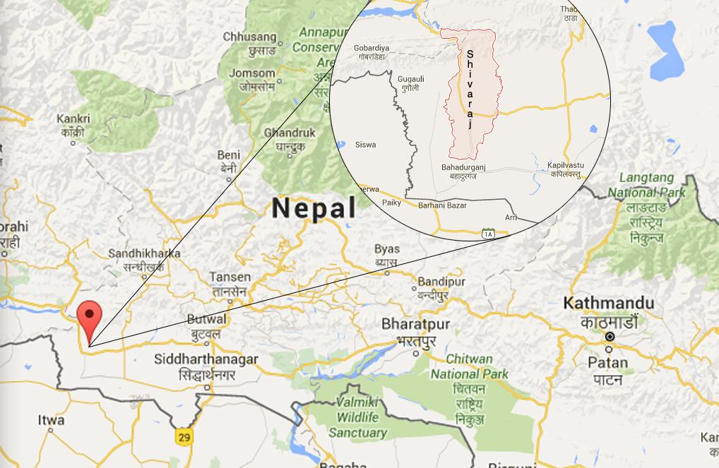 Shivaraj Municipality of Kapilvastu. Photo: Google maps