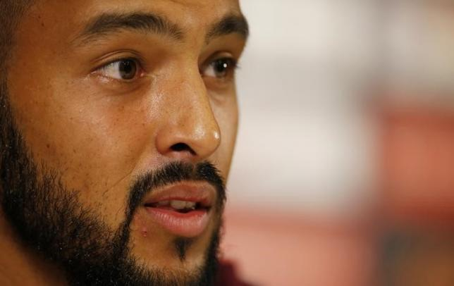Football - England Press Conference - St. George?s Park - 7/10/15nEngland's Theo Walcott during the press conferencenAction Images via Reuters / John SibleynLivepic