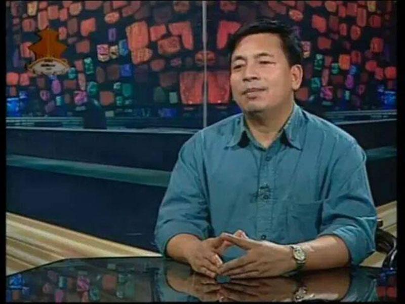 UCPN-Maoist Standing Committee member Nandar Kishor Pun. Photo: Nanda Kishor Pun's Facebook account n