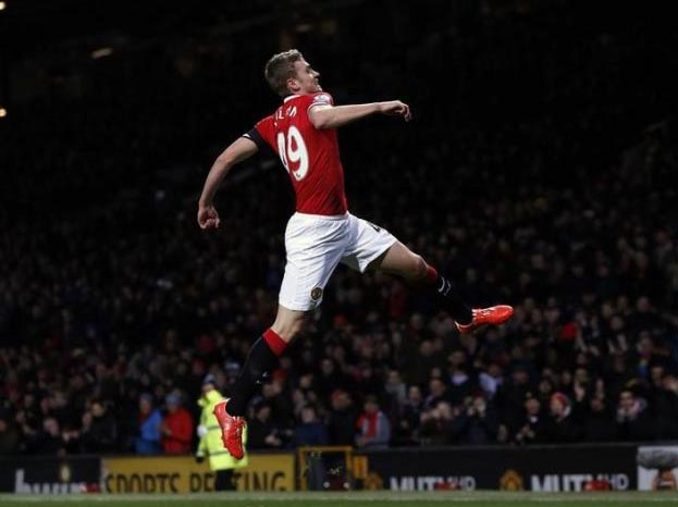James Wilson of Manchester United. Photo: Reuters