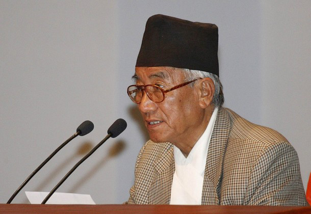 Nepal's Acting Speaker of the House Kul Bahadur Gurung declares the vote results in favour of the republic at the constituent assembly in Kathmandu, on May 29, 2008. Photo: Reuters/ File