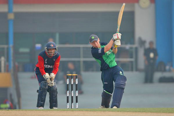 Ireland won toss and electd to bat against Nepal in the ICC U-19 World Cup Qualifer final at Kinrara Oval Academy on Thursday, October 22, 2015. Photo: ICC
