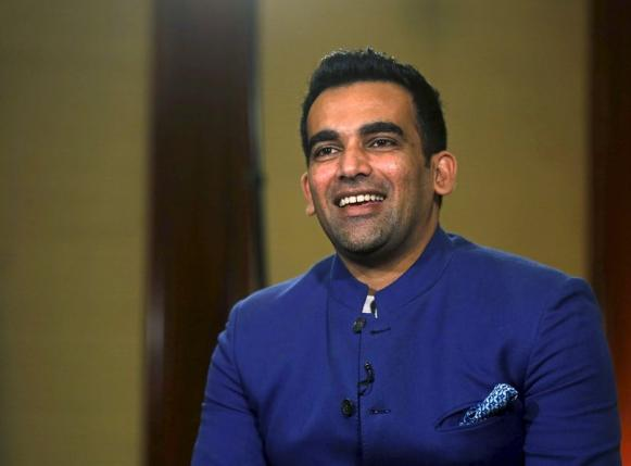 Indian cricket player Zaheer Khan speaks during an interview after announcing his retirement from international cricket in Mumbai, India, October 15, 2015. Photo: REUTERS
