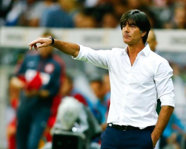 Germany's coach Joachim Loew reacts during their Euro 2016 qualification match against Poland in Frankfurt, Germany, September 4, 2015. Photo: Reuters
