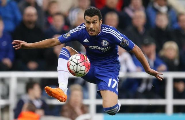 Football - Newcastle United v Chelsea - Barclays Premier League - St James' Park - 26/9/15nChelsea's Pedro in actionnReuters / Russell CheynenLivepic