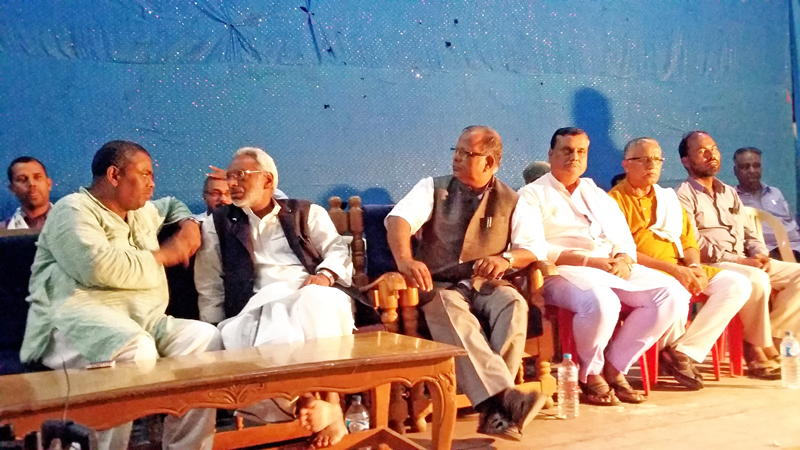 Madhesi Leaders affiliated to various madhes based parties  meeting in Janakpurdham.