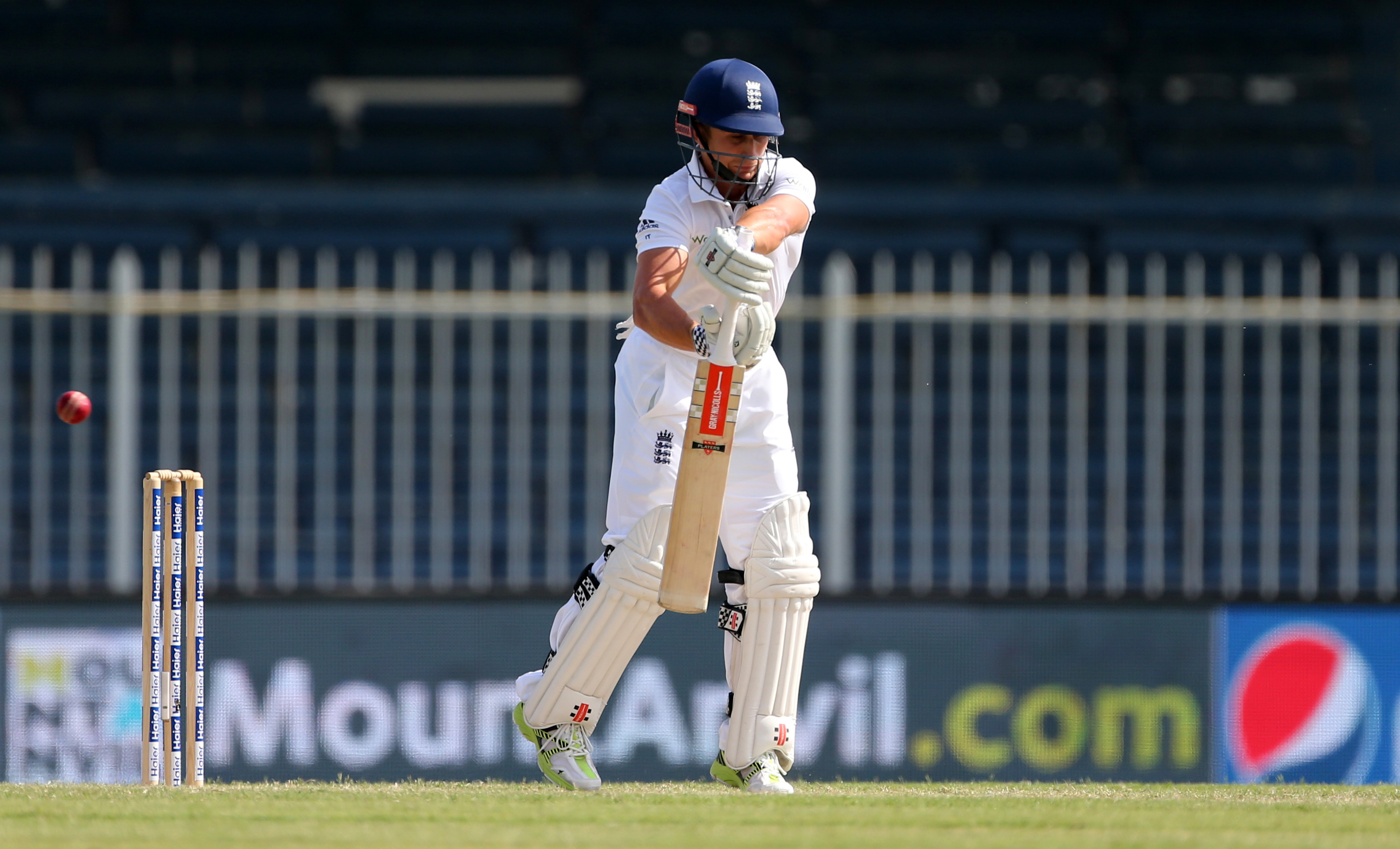 Cricket - Pakistan v England - Third Test - Sharjah Cricket Stadium, United Arab Emirates - 3/11/15nEngland's James Taylor in action as he is caught outnAction Images via Reuters / Jason O'BriennLivepic