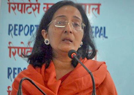 Bangladesh's Ambassador to Nepal, Mashfee Binte Shams. Photo: Reporters Club