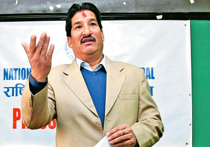 Ganesh Thapa. Photo: THT/ File