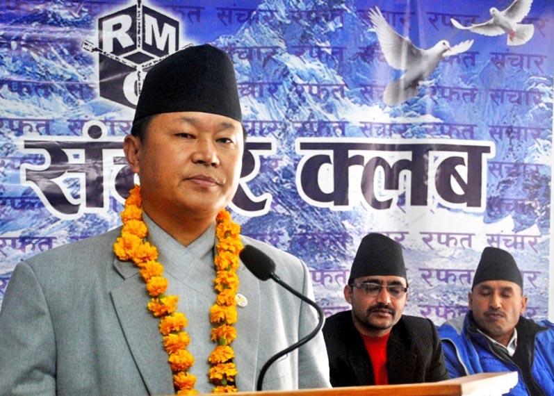 Information, Communications and Technology Minister Sherdhan Rai. Photo: RSS