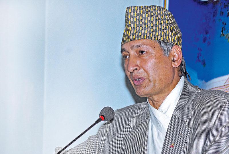 Economist Yuba Raj Khatiwada. Photo: THT Online/File