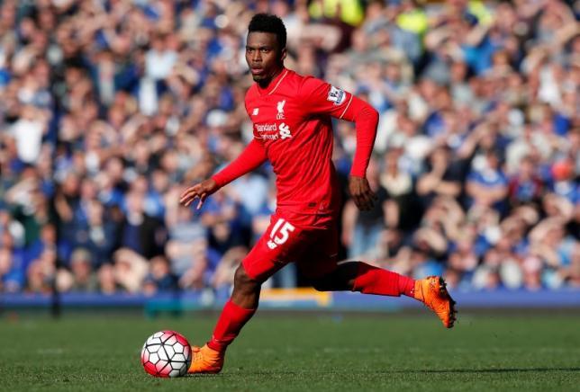Liverpool's Daniel Sturridge in action. Photo: Reuters