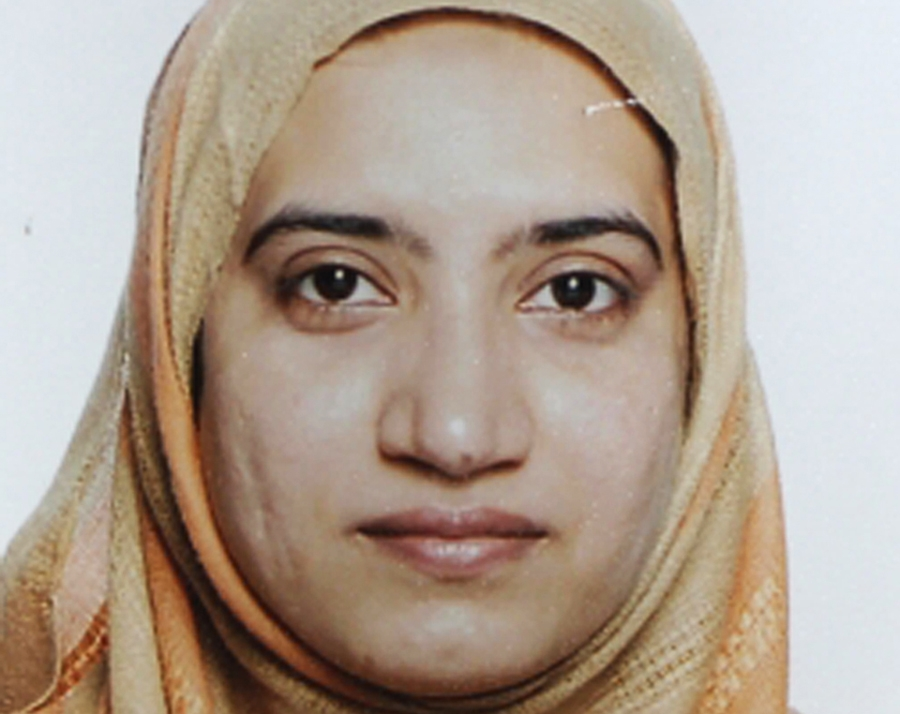 Tashfeen Malik is pictured in this undated handout photo provided by the FBI, December 4, 2015. Photo: Reuters