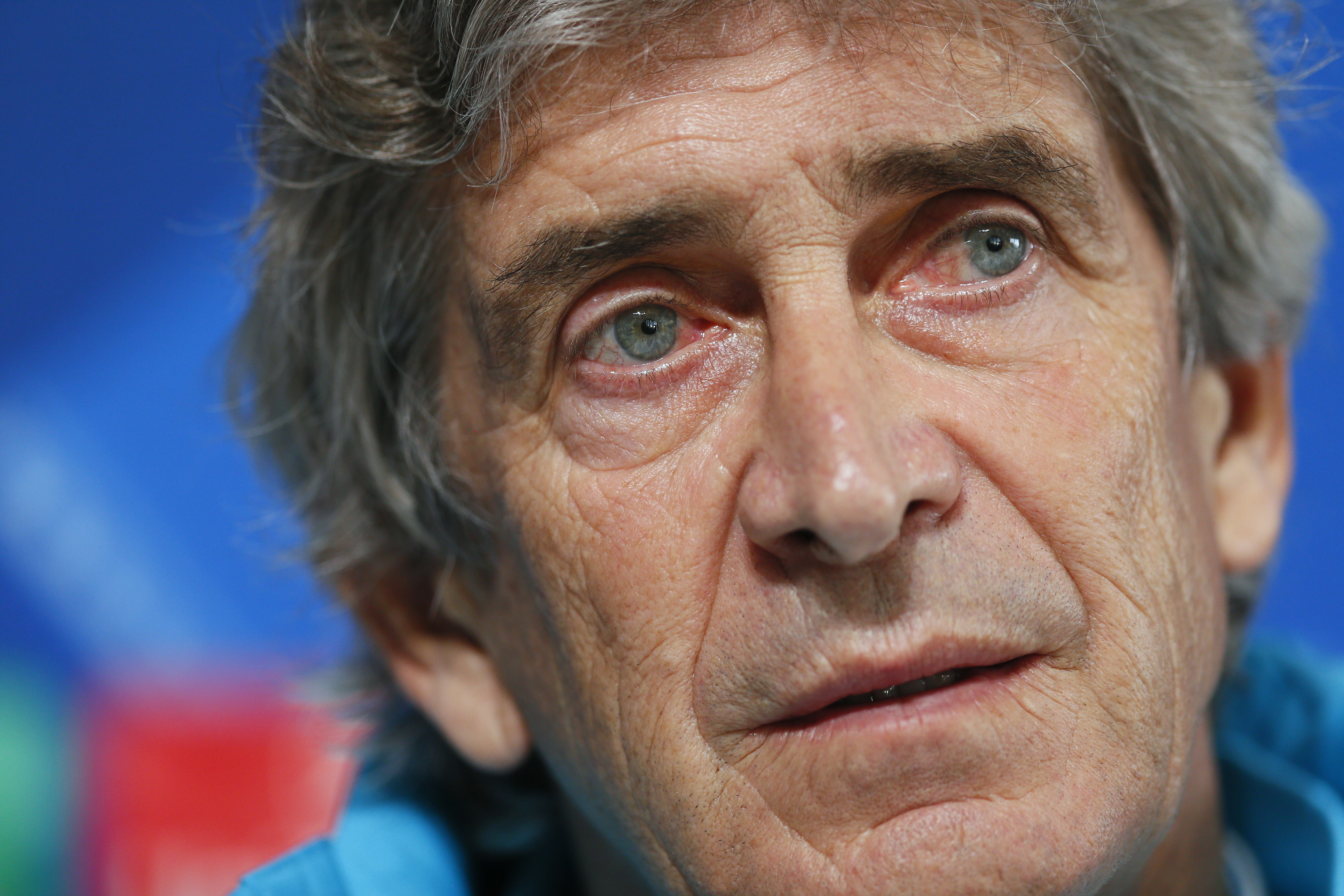 Manchester City manager Manuel Pellegrini during the press conference on December 7, 2015. Photo: Reuters