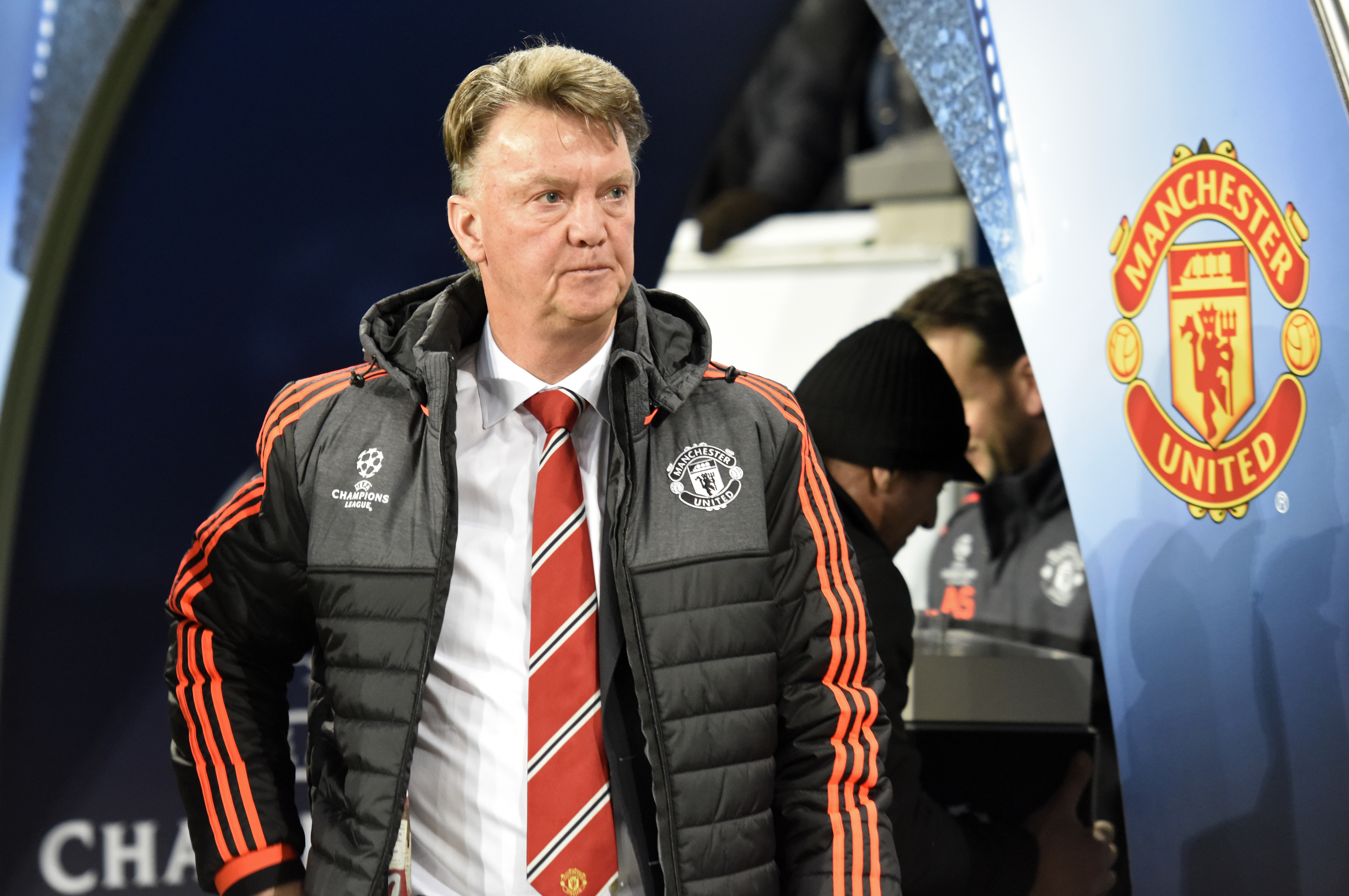 Manchester United manager Louis Van Gaal before the match at Volkswagen-Arena in Wolfsburg on Tuesday, December 8, 2015. Photo: Reuters
