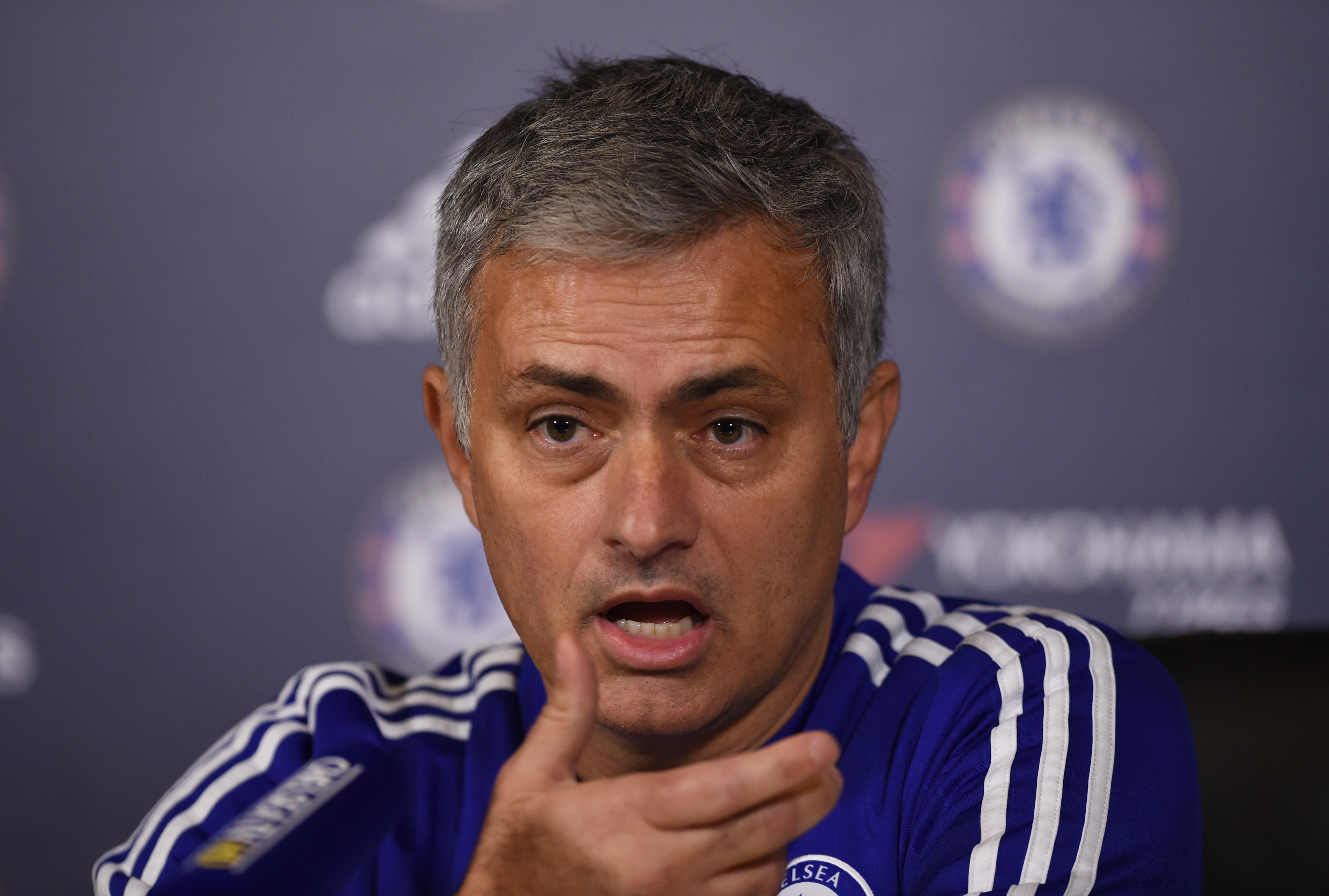 Chelsea Manager Jose Mourinho during press conference at Chelsea Training Ground on December 11, 2015. Photo: Reuters