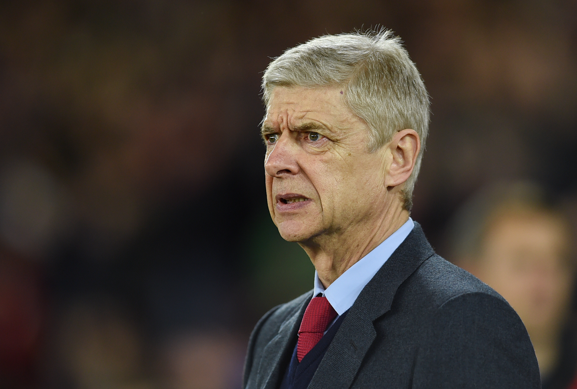 Arsenal manager Arsene Wenger before the match against Southampton. Photo: Reuters