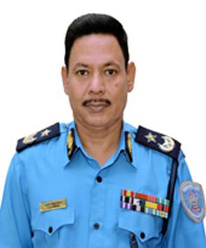 AIGP Pratap Singh Thapa Police Commissione. Photo courtesy: MPO